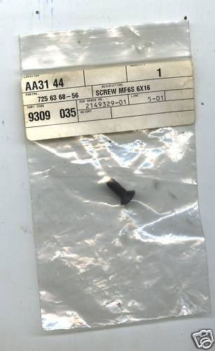 Husky  Part #725 63 68-56 Starter Recoil Screw MF6S New