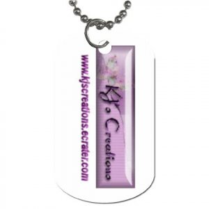 Custom Dog Tag (One Side) Customize Promotional Item Personalize It