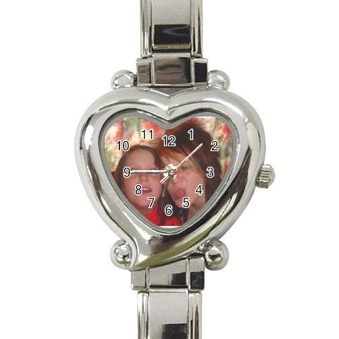Custom Heart Italian Charm Watch Customize Promotional Item Personalize It