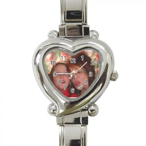 Custom Heart Italian Charm Watch Customize Promotional Item Personalize It