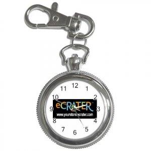 Custom Round Key Chain Watch Customize Promotional Item Personalize It