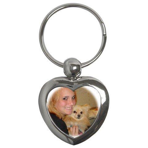 Custom Key Chain Heart Customize Promotional Item Personalize It