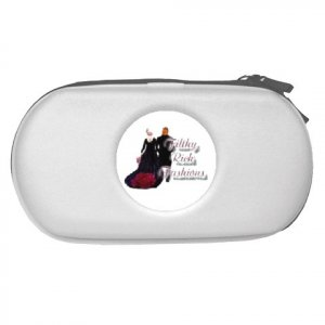 Custom WHITE PSP Travel Case Play Station Portable Customize Promotional Item Personalize It