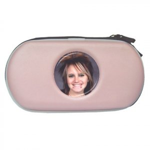 Custom PINK PSP Travel Case Play Station Portable Customize Promotional Item Personalize It