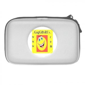 Custom WHITE NDS Lite Travel Case Customize Promotional Item Personalize It