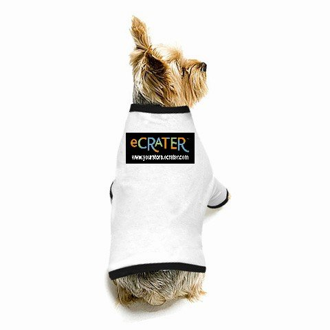 Custom MEDIUM Dog T-Shirt for your pet Customize Promotional Item Personalize It