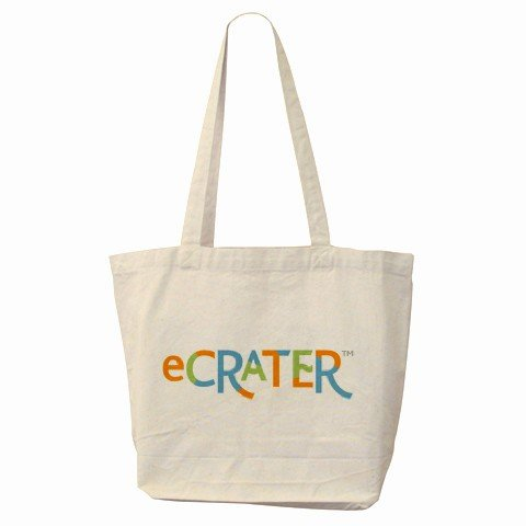 Custom Tote Bag Carry Your Website on your Shoulder Customize Promotional Item Personalize It