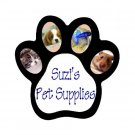 1 Custom Paw Print Magnet Customize Promotional Item Personalize It