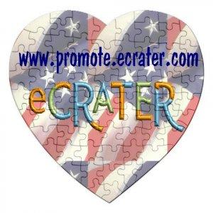 Logo Jigsaw Puzzle HEART Customize Promotional Item Personalize It