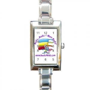 Custom Rectangular Italian Charm Watch Customize Promotional Item Personalize It