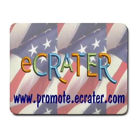 "Custom Small Mousepad 9"" X 7"" Customize Promotional Item Personalize"