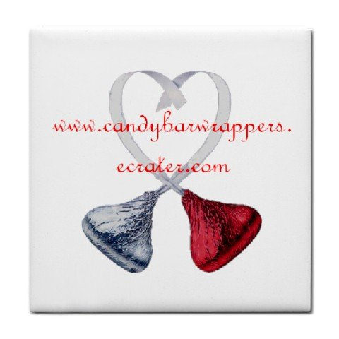 Customize Promotional Tile Coaster Custom - Promote your business here