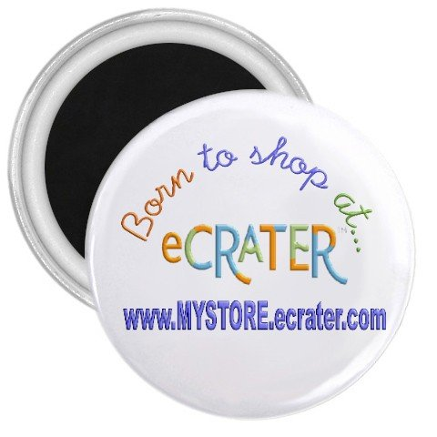 """Custom 1.75"""" Magnet 10 pack Personalize for Sports Team School Business"""