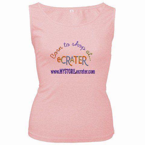 Pink Customize Tank Top Women