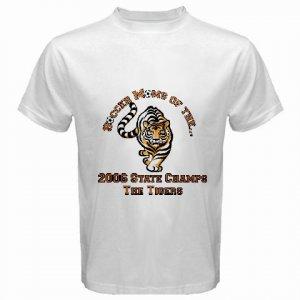 Custom White T-Shirt Medium Customize Personalize Business Logo #CT