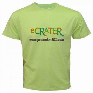 Custom Kiwi Green T-Shirt Small Customize Personalize Business Logo #CT