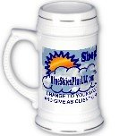 Custom Beer Stein Mug White Customize Promotional Item Personalize It BM-W
