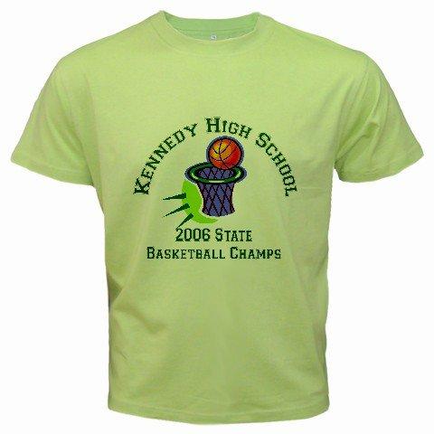 Custom Kiwi Green T-Shirt Medium Customize Personalize Business Logo #CT