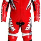 Yamaha R Leather Motorbike Racing Suit With Protection