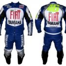 Yamaha Fiat Leather Motorbike Racing Suit With Protection