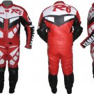 Custom made Yamaha R6 Leather Motorbike Racing Suit With Protection
