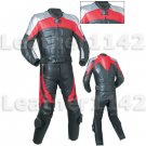 Custom made Leather Motorbike Racing Suit With CE Approved Protection