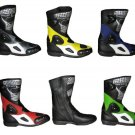 Motorcycle Leather Boots With Protection