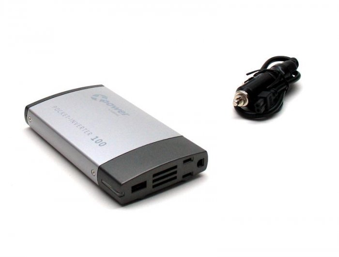 BRAND NEW XPOWER POCKET INVERTER 100 - Power for IPOD ZUNE PSP CELL PHONE LAPTOP