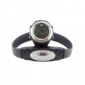 Pyle PHRM20 Marathon Heart Rate Watch W/ USB and 3D Walking/Running Sensor
