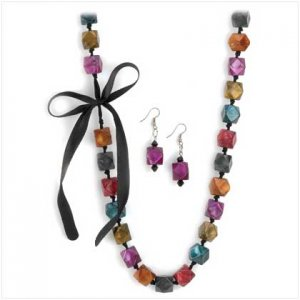 Cubist Carnival Jewelry Set