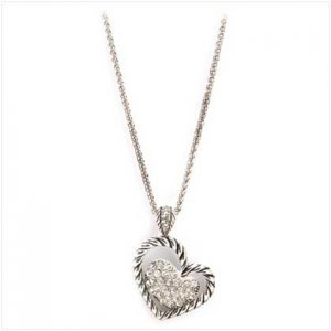 Stargazing Heart Necklace