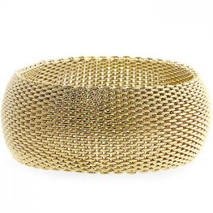 Monaco Gold Bangle Bracelet