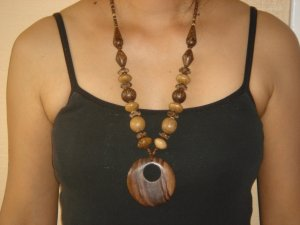 Handcrafted Coconut Shell Necklace Free Shipping