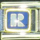 Free Shipping: Realtor Logo Enamel Italian 9mm Charm (Real Estate Agent)