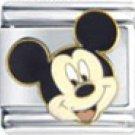 Free Shipping: Disney's Mickey Mouse Enamel Italian Charm 9mm