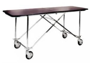 Center Folding Funeral Dressing & Changing Table - Deluxe