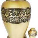 """Soulful Peace"" (TM) Brass Urn"