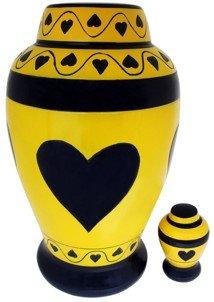 """Splendid Compassion"" (TM) Brass Urn"