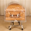 Heavy-Duty Clear  Casket  Covers (5 Covers)