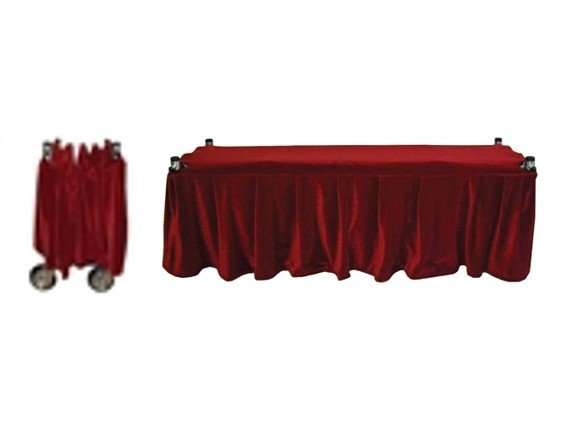 Frameless Church Truck Drape - Black