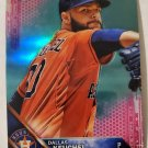 Dallas Keuchel 2016 Topps Chrome Pink Refractor Insert Card
