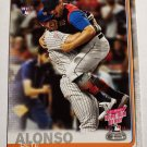 Pete Alonso 2019 Topps Update HRD Rookie Card