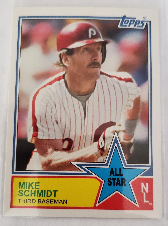 Mike Schmidt 2013 Topps Archives '83 All Stars Insert Card