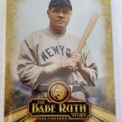 Babe Ruth 2015 Topps The Babe Ruth Story The Home Run King Insert Card
