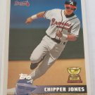 Chipper Jones 2010 Topps Cards Your Mom Threw Out Original Back Insert Card
