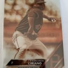 Francisco Liriano 2016 Topps Chrome Sepia Refractor Insert Card