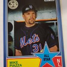 Mike Piazza 2018 Topps '83 All Stars Blue Insert Card