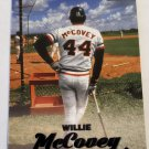Willie McCovey2017 Stadium Club Black Foil Insert Card
