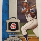 Hank Aaron 2013 Topps Chasing History Insert Card CH35