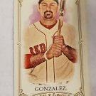 Adrian Gonzalez 2012 Allen & Ginter Mini Insert Card